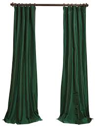wonderful emerald green curtains and emerald green faux silk taffeta curtain single panel traditional