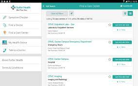 Sutter Health for tablets for Android - APK Download