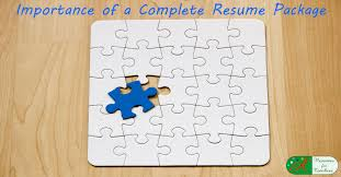 Resume Complete Importance Of A Complete Resume Package