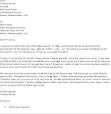 School Administrator Cover Letter Resume For School Administrator Blaisewashere Com