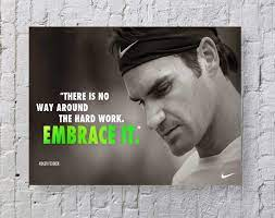 Amazon.com: MeiMeiZ Roger Federer Poster Standard Size | 18-Inches by  24-Inches | Roger Federer Posters Wall Poster Print: Posters & Prints