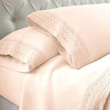 blush bedding sheet set crochet lace microfiber sheet set with 2 pillow cases blush latest bedding blush and gold twin bedding blush pink bedding twin