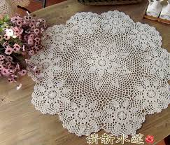 table doilies. aliexpress essential handmade crochet flower round coffee tablecloths cotton table cloth doilies cover home textiles p
