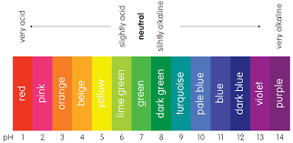 Universal Indicator Chart Ph Scale Indicators Mini Chemistry Learn Chemistry Online