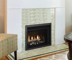 regency hri3e gas fireplace insert with tile surround
