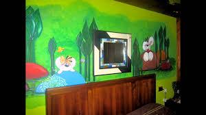 Decorazioni Per Cameretta Dei Bambini : Decorazioni camerette per bambini murales i love cartoons