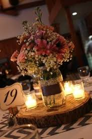 Mason Jar Wedding Decoration Ideas Mason Jar Wedding Centerpieces Rustic mason jar wedding 1