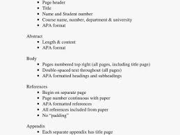 Abstract Essay Format Apa Luxury Apa Abstract Template Unique Resume 46 New Essay Template
