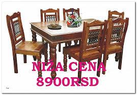 stolica od punog drveta u kombinaciji sa kovanim gvoÅ¾Ä em nova niža cena za viÅ