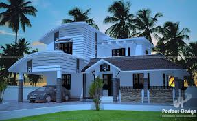 Perfect Small House Design Curved Roof House Design Kerala Home Design Home Depot