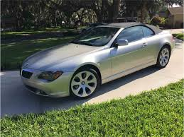 Coupe Series bmw 645 convertible : 2005 BMW 645ci Convertible for Sale | ClassicCars.com | CC-1043586