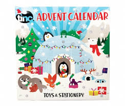 Photo Calander Tinc Toys Stationery 2019 Advent Calendar