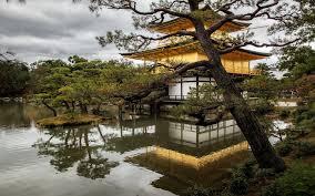 Kyoto Japan Temple Nature Landscape Wallpaper Nature
