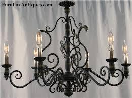 boho style mission chandelier