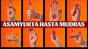 Asamyukta Hasta Mudras Single Hand Gestures With Shloka Classical Dance Lessons Part 1