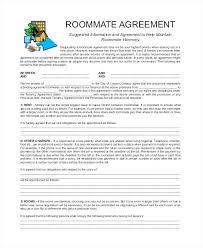 Standard Roommate Lease Agreement – Narrafy Design
