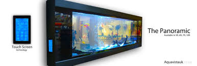 Aquavista PANORAMIC - Wall-mounted Aquariums