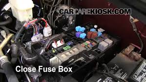 replace a fuse 2007 2013 toyota tundra 2010 toyota tundra 5 7l 6 replace cover secure the cover and test component