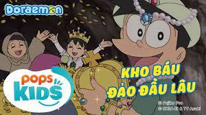 S8] Doraemon Tập 368 - Kho Báu Đảo Đầu Lâu - Hoạt Hình Tiếng Việt