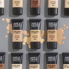 Matte Velvet Skin Liquid Foundation Make Up For Ever