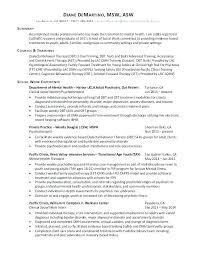 Social Work Resumes Examples Sample Social Worker Resume Example