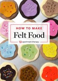 Felt Food Patterns Beauteous Felt Food Patterns Of 48 Free Felt Food Patterns To Make A