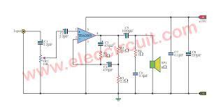 tda2003 10w audio lifier circuit eleccircuit car audio lifier using tda2003 electronic circuits and diagram