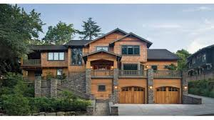 Contemporary Craftsman Homes - House with basement garage