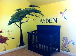baby room murals funny cheerful nursery wall art decals decorations for baby room beautiful lion king