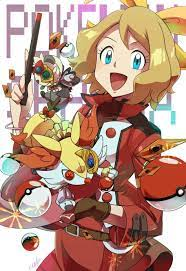 ❤ Serena ♥ | Pokemon game characters, Pokemon characters, Pokemon movies