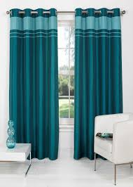 Teal Living Room Curtains Charlotte Faux Silk Fully Lined Eyelet Curtains Matalan Living