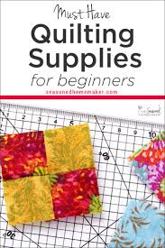 Beginner Quilting Supplies | Everything You Need to Start Quilting ... & Best Tools for Beginning Quilters Adamdwight.com
