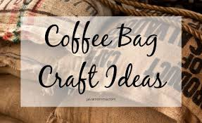 15 creative diy coffee crafts. Gorgeous Burlap Coffee Sack Craft Ideas Java Momma