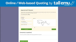 How To Quote A Website Online Quoting System With Tall Emu Crm