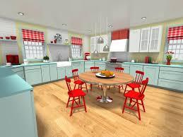 roomsketcher blog cool mint green kitchen