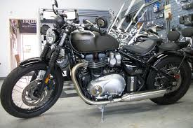 new 2018 triumph bonneville bobber motorcycles in simi valley ca