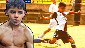 CRISTIANO RONALDO JR is a MACHINE! HERE is WHY! - YouTube