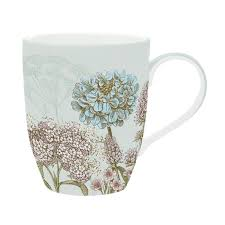 Easy Life Design Coffee Mugs Set 6 Porcelain Mugs 350 Ml Green