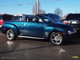 Aqua Blur Metallic 2005 Chevrolet SSR Standard SSR Model Exterior ...