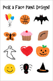 Easy Halloween Face Painting Designs Simple And Quick Face Paint Designs Created For The