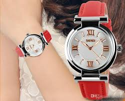 2018 watches women high quality waterproof leather strap fashion gold dress watch las watch women s watches