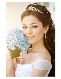 bridal hair and makeup style