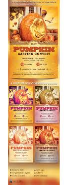 pumpkin carving contest flyer pumpkin carving contest charity flyer template psdbucket com