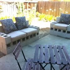 concrete block furniture. Concrete Blocks Bench Cinder Block Furniture Backyard Images About Out Door Benches On Patio Planters Model .