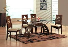 modern wooden dining table designs wooden dining table with glass top amusing dining room inspirations marvelous modern