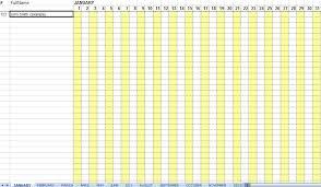 Attendance Sheet For Employees Excel 2016 Raj Pinterest