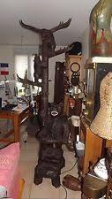 Bear Coat Rack Black Forest Antique Hall Trees Stands eBay 46