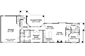 corner lot house plans. Modern Corner Lot House Plans Mediterranean Rimrock Associated Designs Plan 30 817 Flr1 Design .