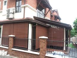 decor bamboo blinds outdoor with outdoor wooden blinds 9 illusion curtains and blinds puchong