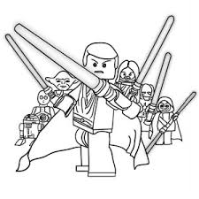 Small Picture Lego Star Wars Coloring Pages Bestofcoloring Com gambartopcom